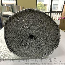 双面铝箔气泡隔热膜 房顶屋顶反射膜防晒防潮铝膜材料