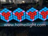 3D魔方立体背景墙 酒吧KTV3D魔方背景墙