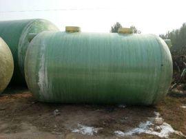 双瓮化粪池 玻璃钢旱厕改造化粪池 加厚化粪池安装