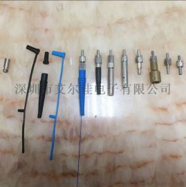 光纤连接器MPO一体式适配器金属防尘冒金属插芯