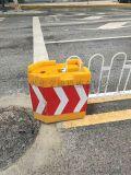 市政施工滾塑水馬防撞桶隔離墩廠家直銷