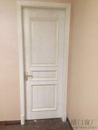 佛山复合贴皮木门 现代欧式风格 烤漆门 室内套装门鸿基外贸出口门