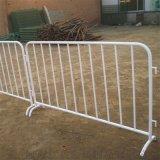 红白金属移动围栏热镀锌移动黑黄栏施工隔离栏