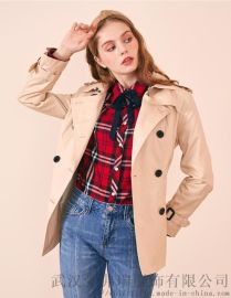 真丝女装拿货宠**20年春装新款女式风衣外套