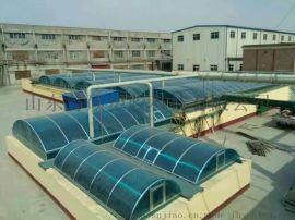 供应德州pc透明中空阳光板工程