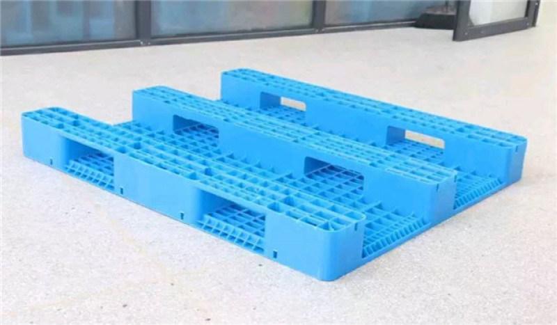 瀘州倉儲一體化塑料托盤,上貨架叉車托盤1111