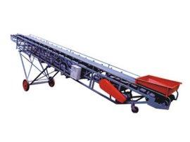 供应移动式皮带输送机 矿用胶带皮带输送机粉料输送设备