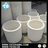 供应泰晟耐磨氧化铝陶瓷管,陶瓷内衬管