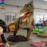 電影侏羅紀公園模擬動物雕塑擺件 各款恐龍定製 園林廣場