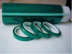 供应 pet绿胶带 耐高温绿色胶带 PCB电镀绿胶带