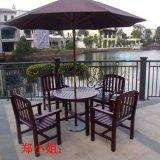 厂家供应户外园林木制桌椅 餐厅咖啡厅组合桌椅