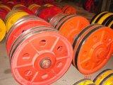 矿源牌机械配件滑轮16T铸钢滑轮组
