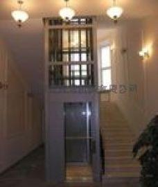 家用电梯厂供长沙南宁柳州海南液压小型别墅家用电梯
