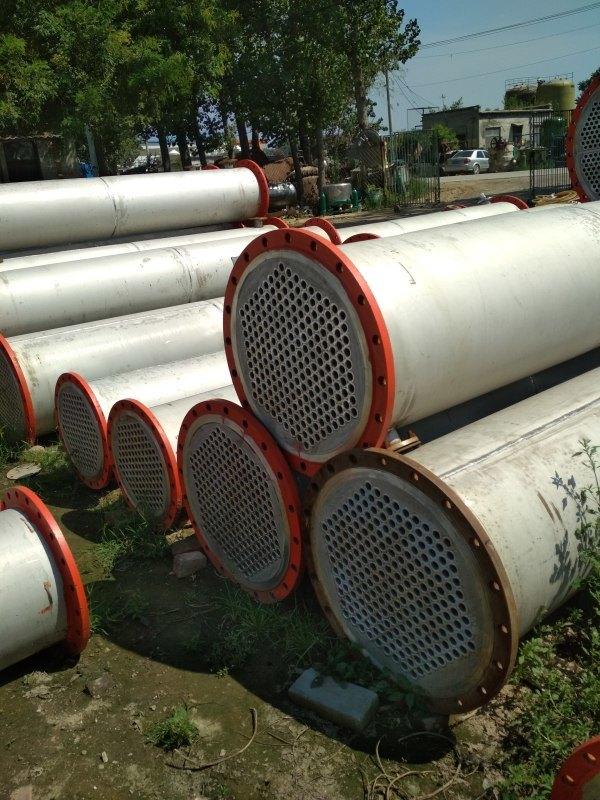 供应二手50平方不锈钢冷凝器,二手列管冷凝器厂家 批发价格 梁山赛诺二手