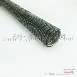 天津穿線金屬軟管  防水包塑軟管配鐵接頭