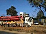 求购二手三一37米泵车