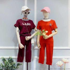 潮流女装品牌哈尔滨西大直街她衣柜店女装尾货针织衫女装卫衣批发