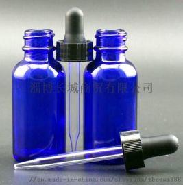 棕色蓝色波士顿瓶电子烟油瓶精油瓶滴管瓶化妆品瓶