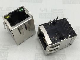 RJ45插座连接器 网络接口 RJ45网口