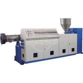 PE PVC挤出机 PE PVC塑料单螺杆挤出机 45 50 65生产线 PE PVC