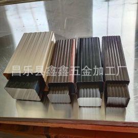 北京建材市场有铝合金方管吗 彩铝落水排水