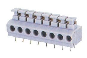 弹簧连接PCB接线端子(DG235)、线路板连接器、上海端子
