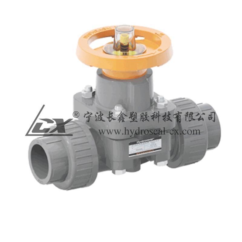 西藏UPVC隔膜阀,拉萨UPVC承插隔膜阀,UPVC由令式隔膜阀
