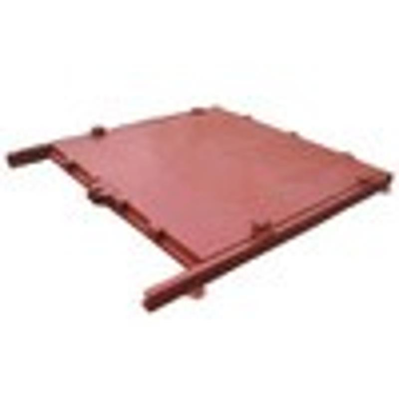 卧床式翻板闸门 闸门牢固 止水效果好 底轴式钢闸门 其他污水处理设备