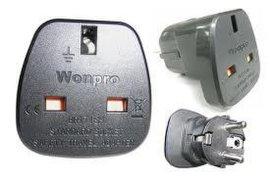 英式插座转欧式插头转换器(WAS7-9)