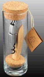 创意漂流瓶榉木开瓶器