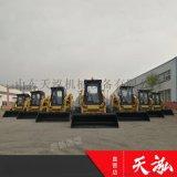 天泓厂家生产站立式滑移装载机多功能四驱迷你小铲车