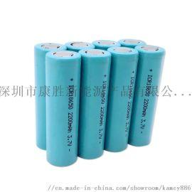 18650充电电池2200mah锂电池带KC认证