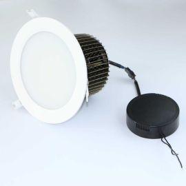60W防雾筒灯80W鳍片LED筒灯