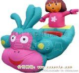湖南娄底双人儿童电瓶车,新款气模车  广场游乐设备