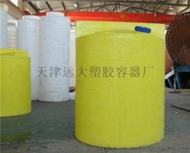 沧州缓蚀剂溶药箱,1吨水处理环保溶药箱