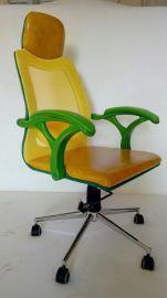 泓美雅8826时尚多彩透气网布办公椅