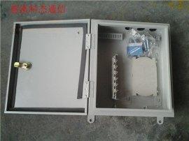 12芯光纤配线箱冷轧板光纤分纤箱分线箱标准材质