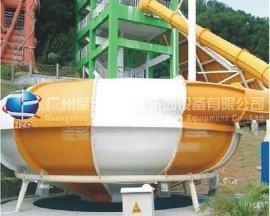 水上乐园设备:大型组合滑梯巨兽碗