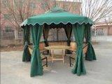 供青岛铁六角凉亭无锡铁网眼桌椅厦门户外休闲家具
