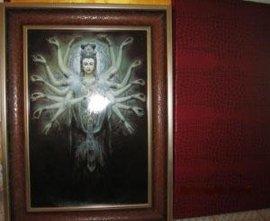 艺术瓷板画、瓷板花纸、潮州瓷板画