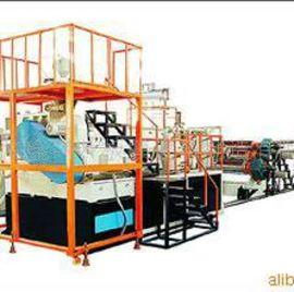 金韦尔PVC广告装饰板挤出生产线