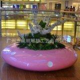 高檔玻璃鋼休閒椅 飛碟坐凳 商場戶外美陳擺設 藝術時尚