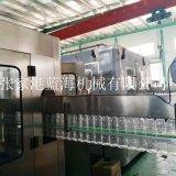 廠家供應礦泉水生產線全自動瓶裝水灌裝機液體灌裝封口機定製