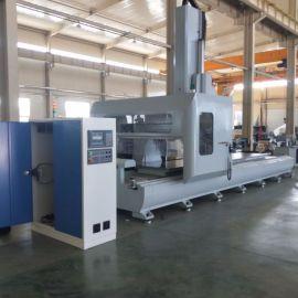 义乌铝型材五轴数控加工中心 工业铝加工设备