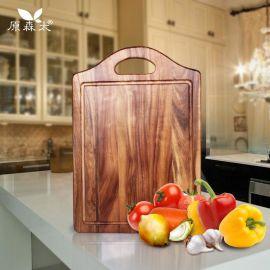原森太小叶相思木切菜板 厨房家用砧板