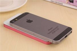 苹果5移动电源套料 聚合物铝合金外壳 超薄苹果5手机一样的比例
