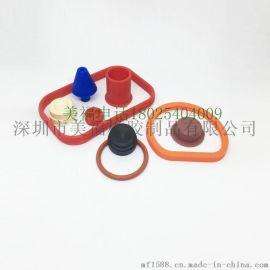 硅橡胶制品加工厂家 连接器系列阻燃硅胶产品 各种防火硅橡胶配件 硅胶制品生产厂家