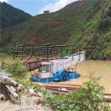 河道水葫芦清理装置,水草打捞船,垃圾打捞船