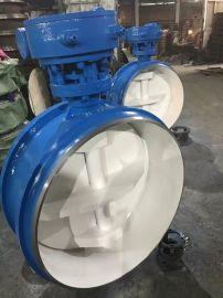 智科D363H-40C 焊接式高温高压蒸汽蝶阀