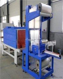 全自动袖口式PE膜包装机 矿泉水瓶膜包机 汽车防冻液包装机原厂直销